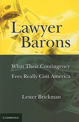 Lawyer Barons By Brickman, Lester